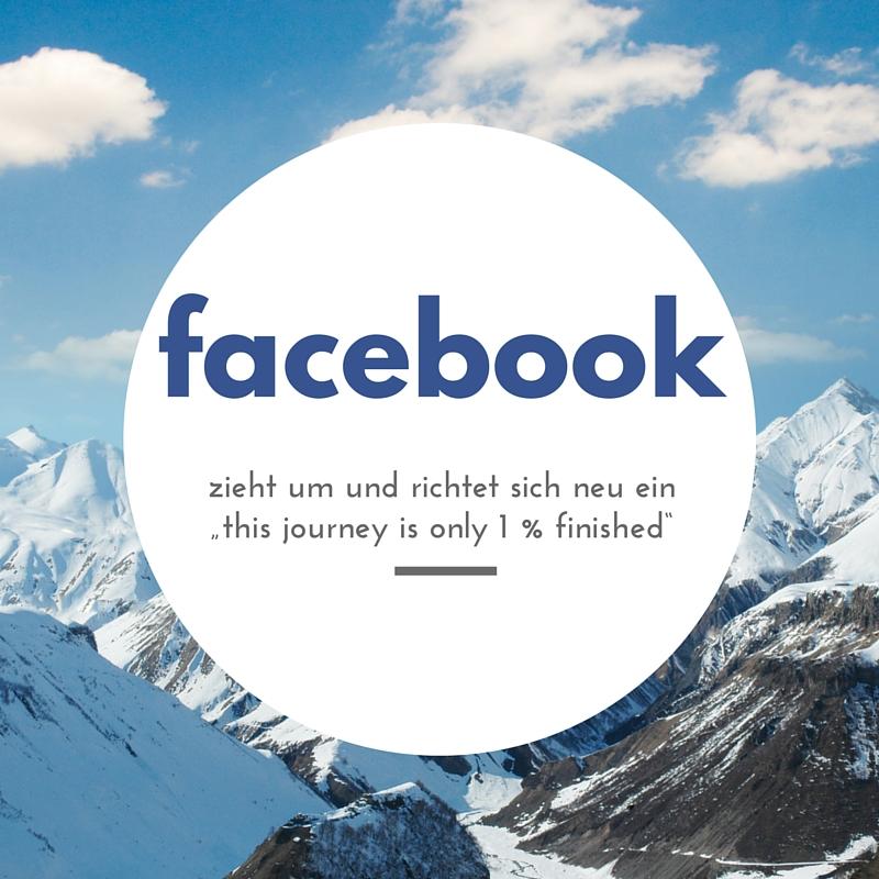 Facebook zieht um
