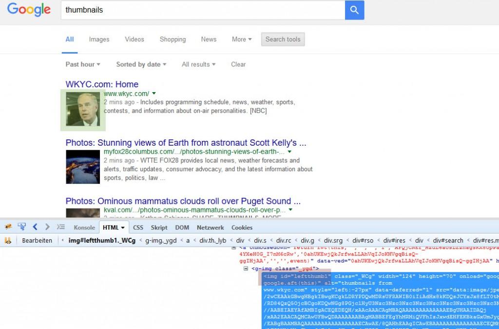 Google Thumbnails