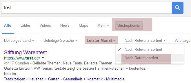 Neues Vorschaubild bei Google 3