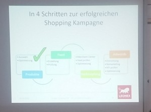 Google Shopping Ads Workshop auf der OMKB 2016