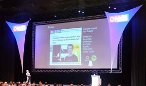 Ist Facebook tot? Frage in de rKeynote der OMKB 2016