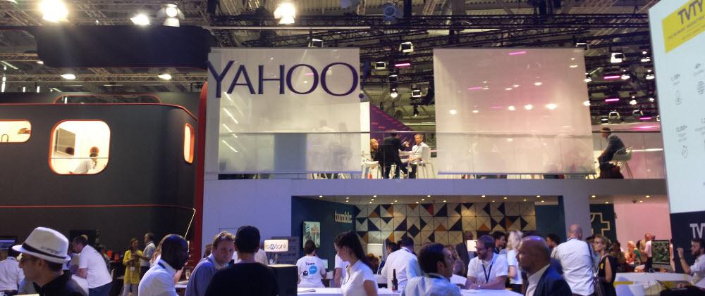 Stand von Yahoo - dmexco 2016
