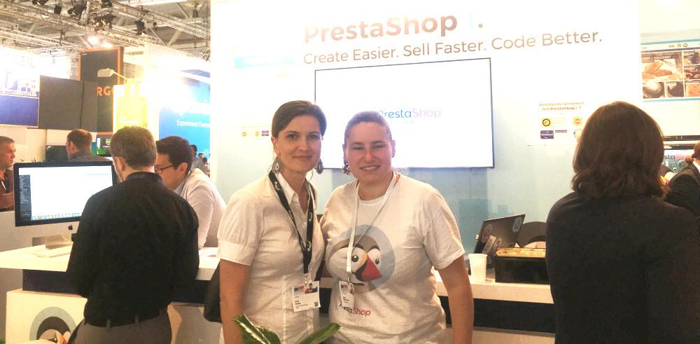 Prestashop auf der dmexco mit Anna Pianka von ABAKUS