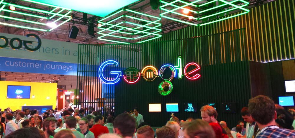 Google Stand auf der dmexco 2016