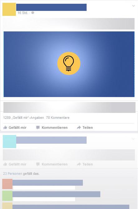 Facebookoptimierung - Reichweitensteiergung