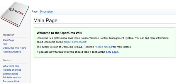 OpenCMS Wiki