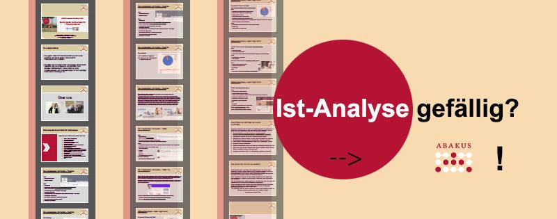Professionelle IST-Analysen & Facebook-Analysen