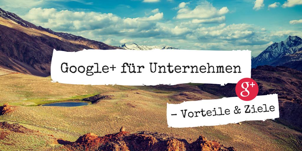 Google+ für Unternehmen