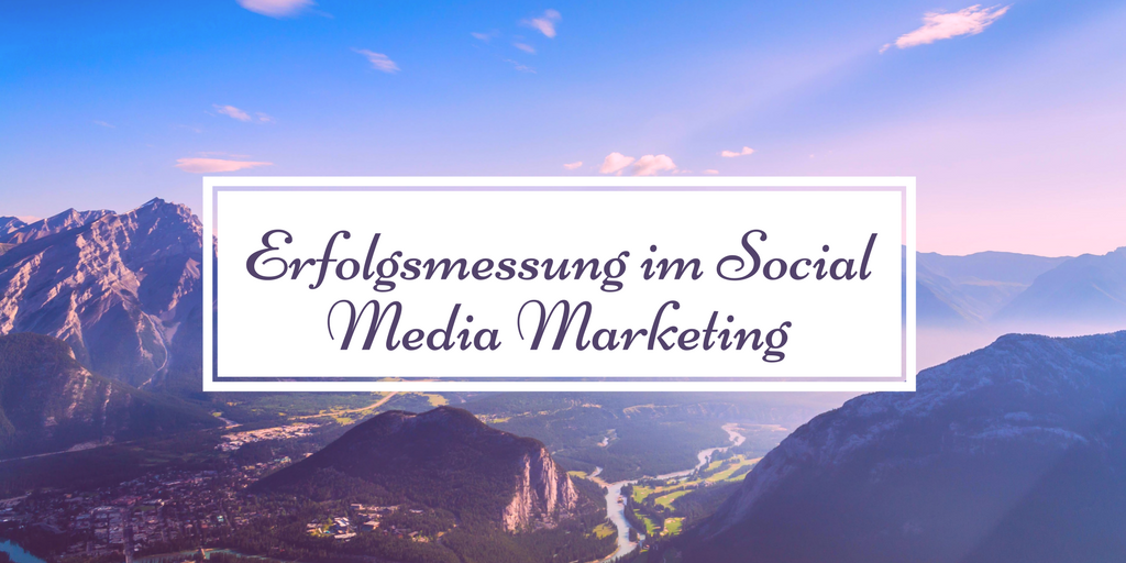 Erfolgsmessung im Social Media Marketing