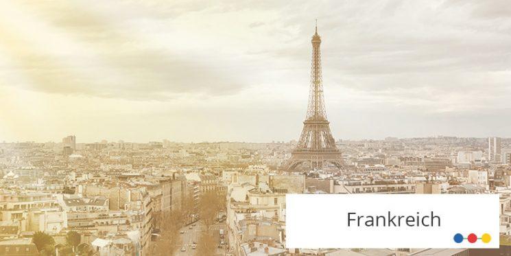 Blick auf Paris mit Eiffelturm
