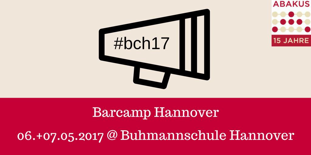 abakus als sponsor vom barcamp hannover 2017 abakus seo blog. Black Bedroom Furniture Sets. Home Design Ideas