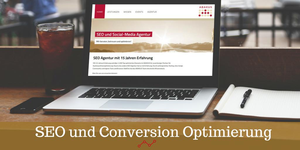 SEO und Conversion Optimierung