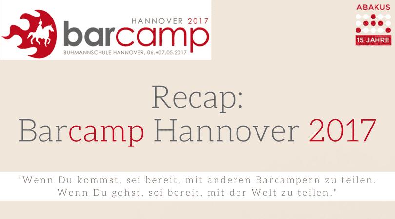 Recap Barcamp Hannover 2017