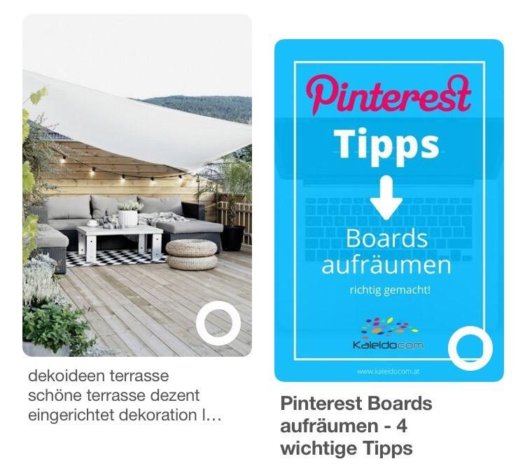 Pinterest Suche