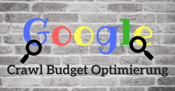 Crawl Budget Optimierung