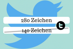 Twitter verdoppelt Zeichen auf 280