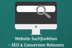 Website Suchfunktion
