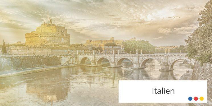 Blick auf Rom mit Engelsbrücke