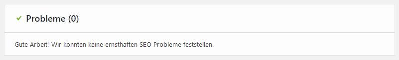WordPress SEO OK