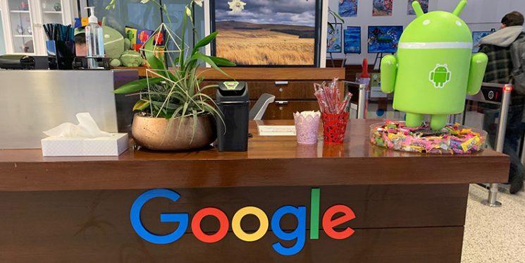 ABAKUS Besuch bei Google 2018
