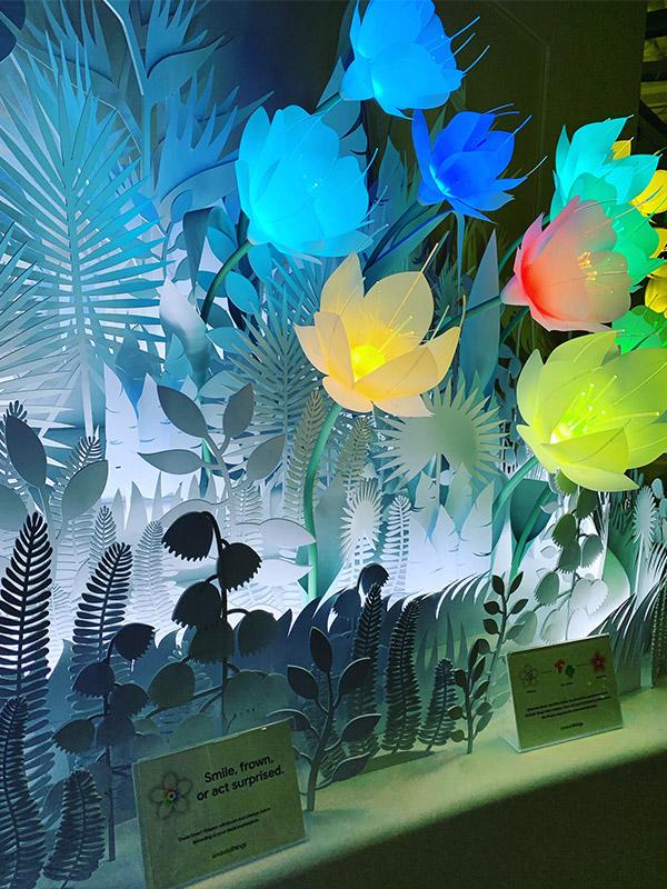 ABAKUS Besuch bei Google 2018 Smartflowers