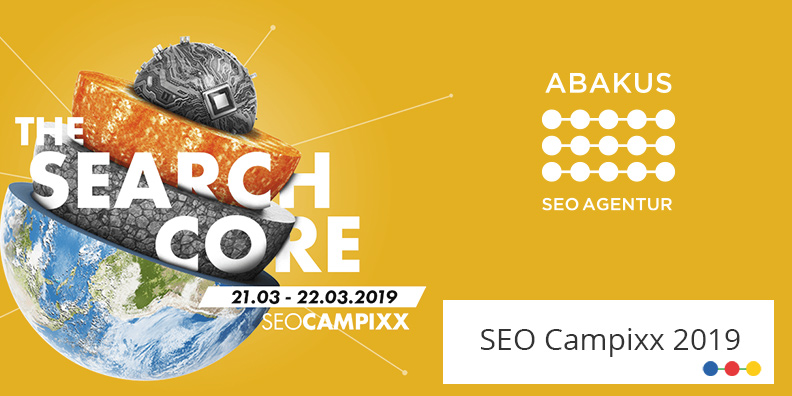 SEO Campixx Grafik Search Core mit ABAKUS Logo