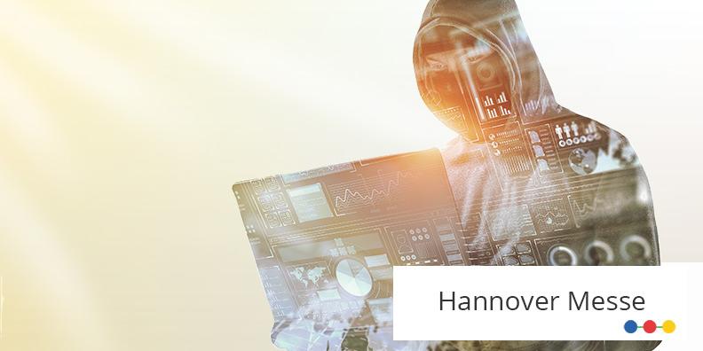"""Hacker mit Laptop – ABAKUS Vortrag auf der Hannover Messe """"SEO und Cybersecurity"""""""