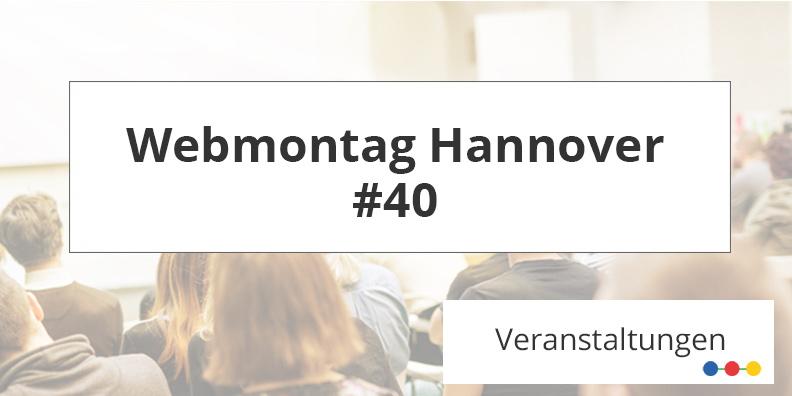 Grafik für den Webmontag #40 mit ABAKUS am 15.04.2019 in hannover