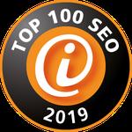 Abbildung des iBusiness Top 100 SEO Siegel 2019