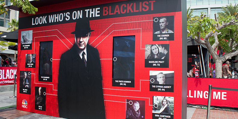 Foto mit dem Motiv aus The Blacklist – Look who´s on the Blacklist