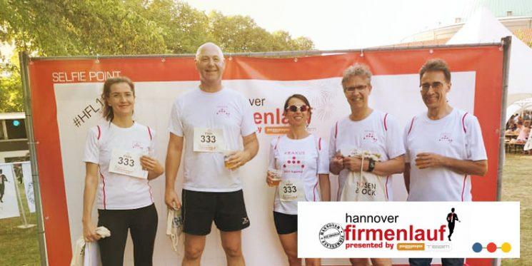 Firmenlauf Hannover mit ABAKUS