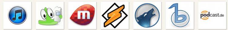 Podcatcher Logos