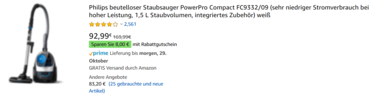Amazon Produkttitel - Desktop