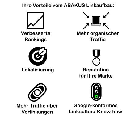 Infografik Vorteile Linkaufbau