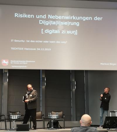 Vortrag Nebenwirkungen der Digitaliserung