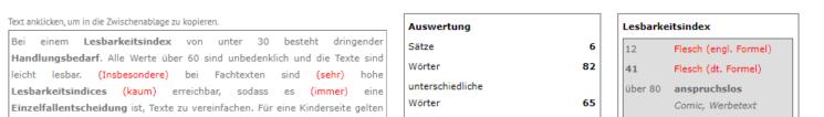 Screenshot Schreiblabor