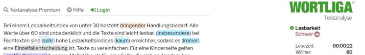 Screenshot Wortliga