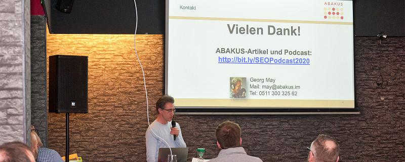 Georg May Vortrag Webmontag