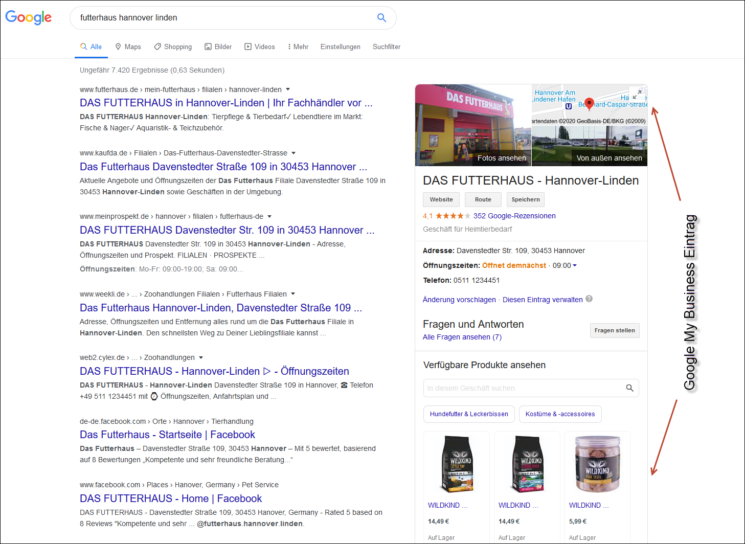 Lokales SEO: Google My Business Eintrag