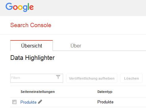 Data Highlighter Screenshot
