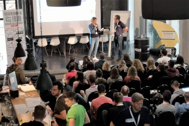 Vortrag My Goal von Mathias Priebe auf der FiBloKo 2019