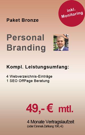 Personal Brand Paket Bronze