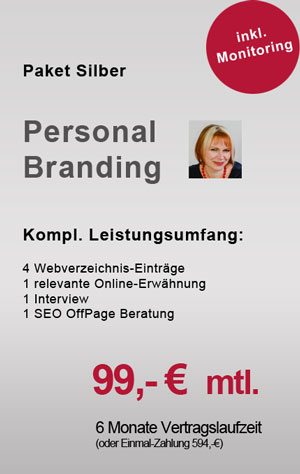 Personal Brand Paket Silber