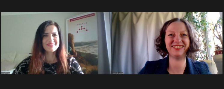 Intervieww Catrin Grobbin mit Anna Pianka von ABAKUS Internet Marketing