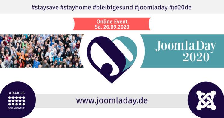 JoomlaDay2020 ABAKUS Internet Marketing Medienpartner