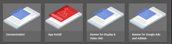 Screenshot Google Webdesigner