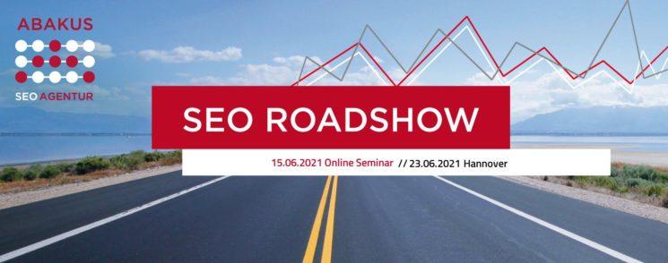 SEO Roadshow 2021 online am 15.06.2021