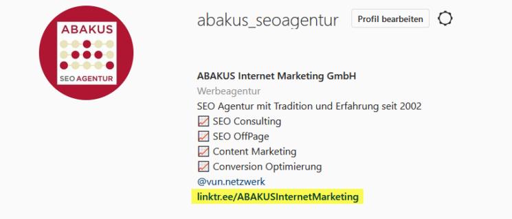 ABAKUS Instagram Profil