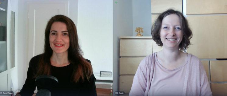 Anti Aufschiebe Tag mit Catrin Grobbin Podcast Folge mit Anna Pianka